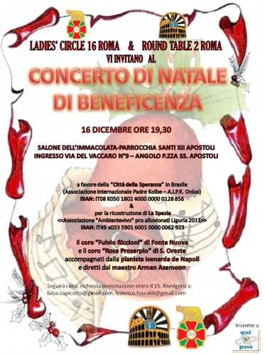 Fabrizio Giulimondi: Concerto di beneficenza